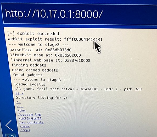 PS4 5 50 WebKit (Userland) Exploit Rewrite by Qwertyoruiop | Page 5