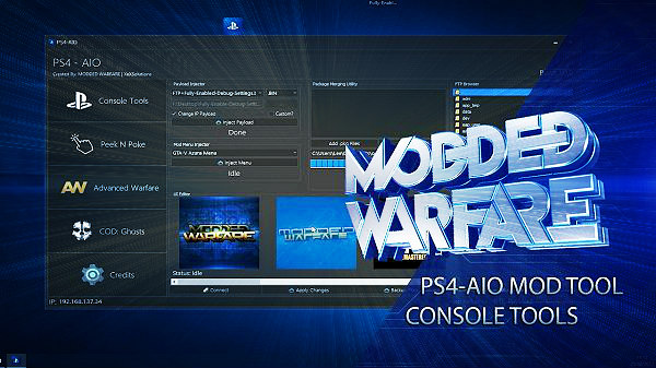 PS4 AIO Mod Tool and Console Tools Overview by Modded Warfare.jpg