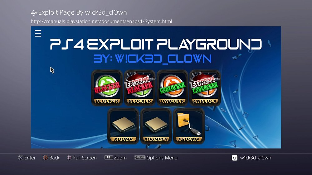 PS4 AIO Offline 5.05 Exploit Playground and Guide by W!ck3d_cl0wn 3.jpg
