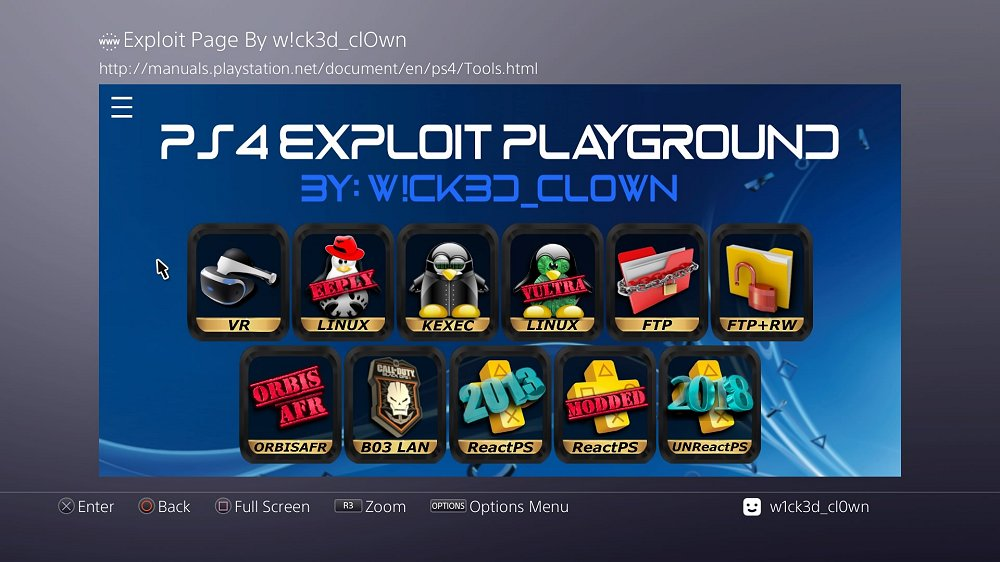 PS4 AIO Offline 5.05 Exploit Playground and Guide by W!ck3d_cl0wn 4.jpg