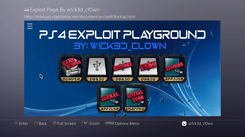 PS4 AIO Offline 5.05 Exploit Playground and Guide by W!ck3d_cl0wn 5.jpg