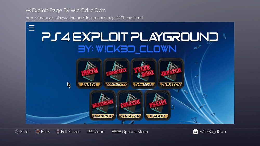 PS4 AIO Offline 5.05 Exploit Playground and Guide by W!ck3d_cl0wn 7.jpg
