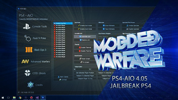PS4 AIO v1.4.0 with 4.05 Support and BO3 Mods by MODDED WARFARE!.jpg