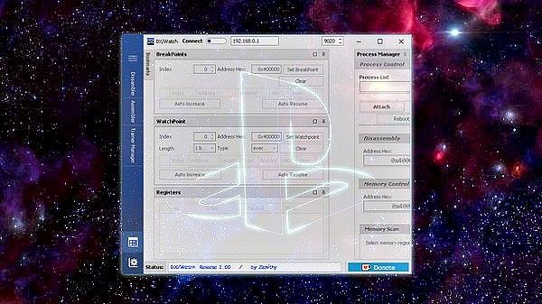 PS4 DX Watch 1.0 Disassembler Assembler Debugger by xZenithy.jpg
