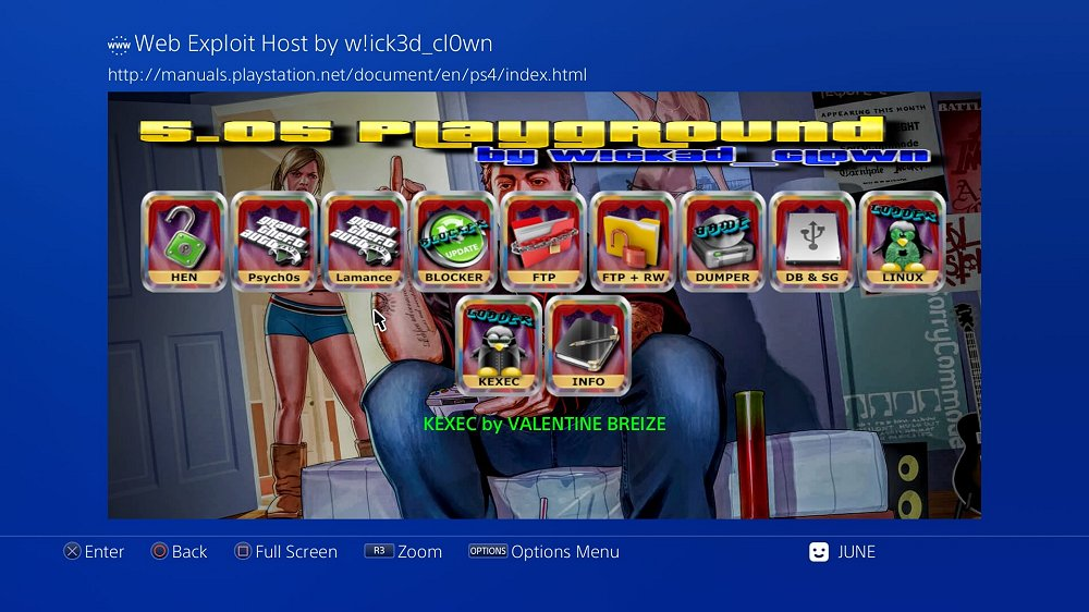 PS4 ESP8266 Web Exploit Host 5.05 Playground by W!ck3d_cl0wn 4.jpg