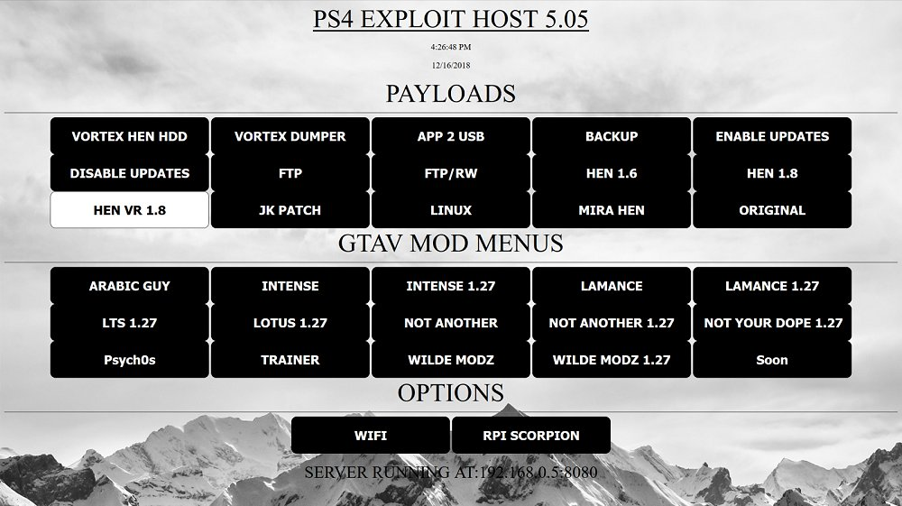 PS4 Exploit Server for 5.05 Firmware by OhcHIT.jpg