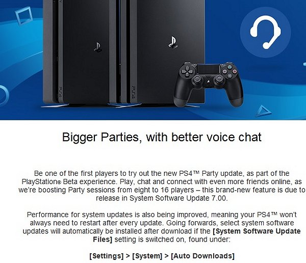 PS4 Firmware System Software 7.00 Beta 2.00 Hits Testers, Features 2.jpg