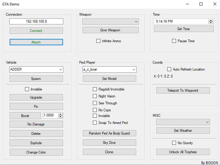 PS4 GTA V Native Caller  Invoker (GTANatives.dll) by BISOON.png