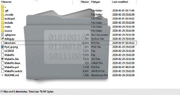 PS4 Homebrew FTP Server OpenOrbis PKG Unofficial Release.jpg