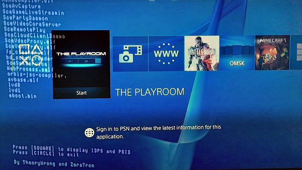 PS4 Homebrew WIP Displaying PSID  IDPS by TheoryWrong & ZeraTron.jpg