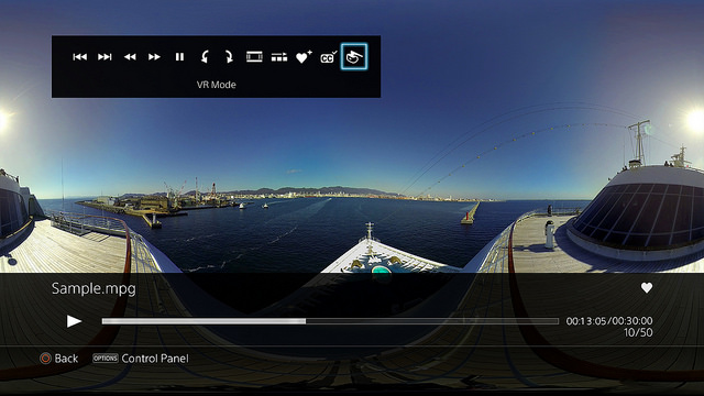 PS4 Media Player v2 50 Update Adds 360-Degree Video & FLAC Audio
