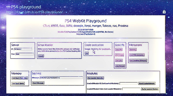 PS4 Playground for Webkit Exploits on 1.62 Firmware Port Arrives.jpg