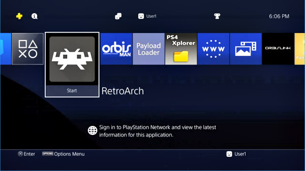 PS4 RetroArch Native Emulator Port (Unofficial) PKG via OsirisX!.jpg