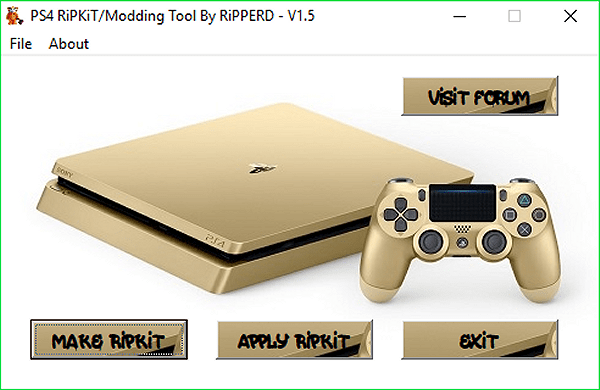 PS4 RiPKiT / Modding Tool for PlayStation 4 Games by RiPPERD