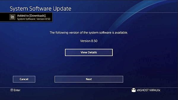 PS4 System Software Firmware 8.50 is Now Live, Don't Update!.jpg