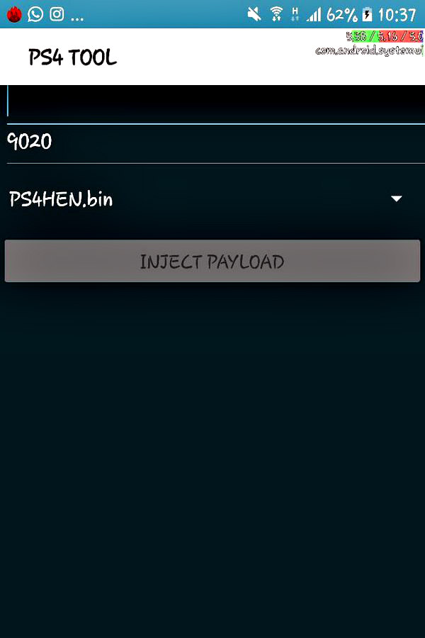 PS4 Tool.apk PlayStation 4 Payload Injector for Android by Reazer.jpg