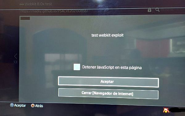 PS4 WebKit Exploit Test for Use-After-Free (CVE-2021-30858) Vulnerability.jpg