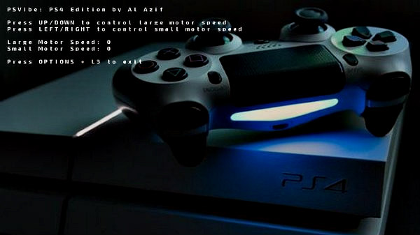 PSVibe PS4 Edition Controller Rumbler Tester Homebrew by Al Azif.jpg