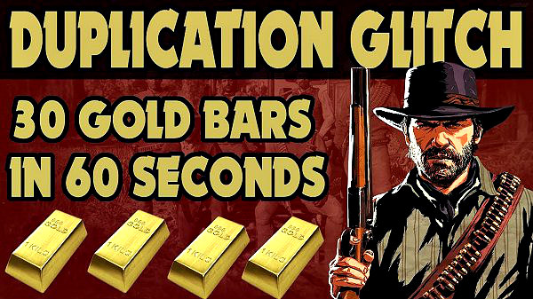 Red Dead Redemption 2 PS4 Gold Bar Duplication Glitch Discovered