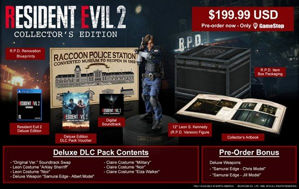 Resident Evil 2 Collector's Edition PS4 Comic-Con 2018 Details.jpg