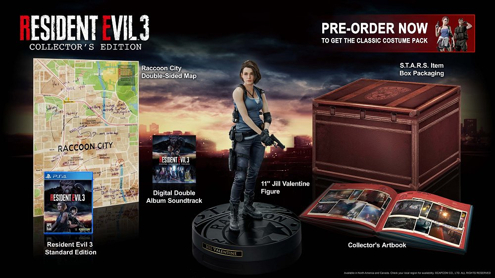 Resident Evil 3 Collector's Edition Returns to PlayStation 4 on April 3rd, 2020.jpg