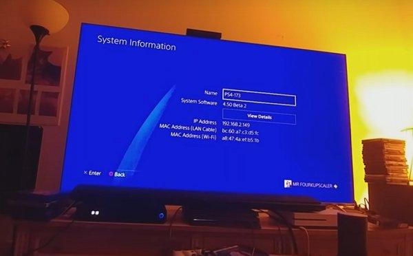Sasuke PlayStation 4 Beta Firmware 4.50 Update Video Walkthrough.jpg