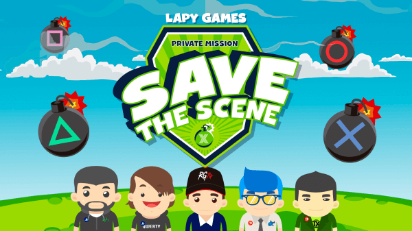 Save The Scene Private Mission PS4 Homebrew PKG Game by Lapy.png