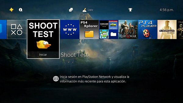 Shoot Test PS4 Homebrew PKG by Lapy05575948.jpg