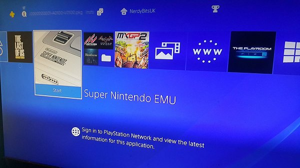 SNESStation SNES Emulator Port for PS4 4 05 by Nominus