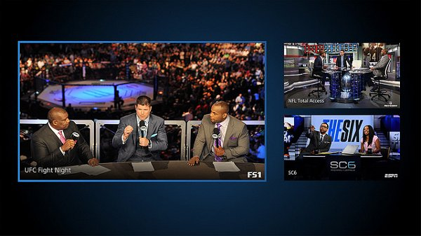 Sony Announces PlayStation Vue Sports Pack Add-on, PS4 Multi-view.jpg
