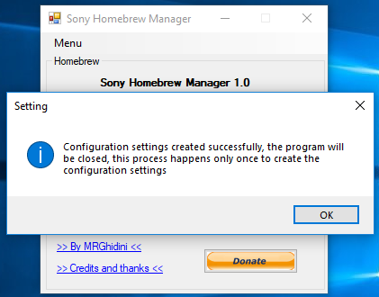 Sony Homebrew Manager for PS4, PS Vita and PS3 by MRGhidini 2.png