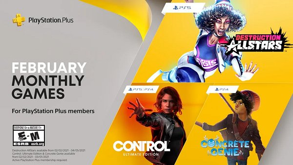 Sony Unveils PlayStation Plus PS5 and PS4 Games for February 2021.jpg