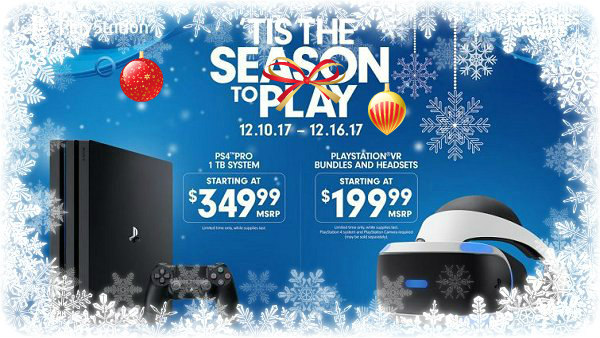 Tis the Season to Play December Deals on PS4 Pro & PS VR Systems.jpg