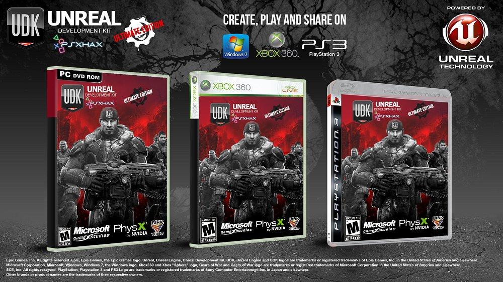 UDK Ultimate - The Free Multi-Platform Homebrew 3D Game