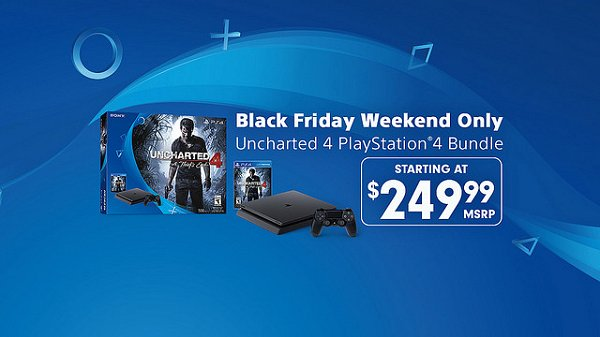 Uncharted 4 PS4 Bundle for $249.99 as Black Friday Weekend Deal.jpg