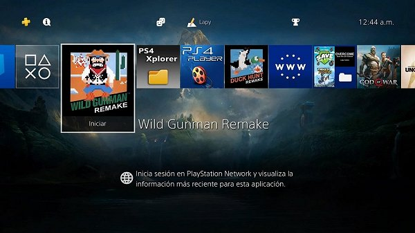 Wild Gunman Remake 35th Anniversary Homebrew PS4 PKG by Lapy05575948.jpg
