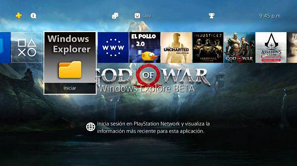 Windows Explorer BETA 1.0 PS4 Homebrew FPKG by Lapy05575948.jpg
