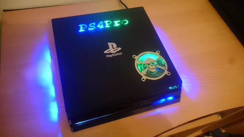 ps4 case modding