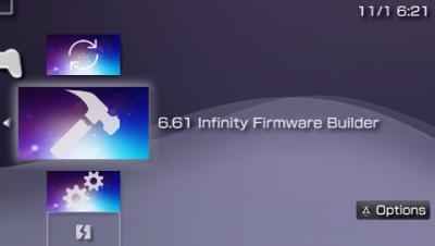 8c927b65d439 PSP 6.61 Infinity Hybrid Firmware by Davee, LME & PRO CFW Patch ...