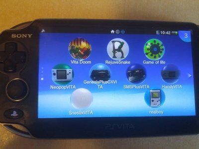 VPK Files Archive List Collection for HENkaku on a Hacked PS Vita