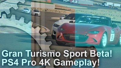gran turismo sport closed beta on ps4 pro 4k output. Black Bedroom Furniture Sets. Home Design Ideas