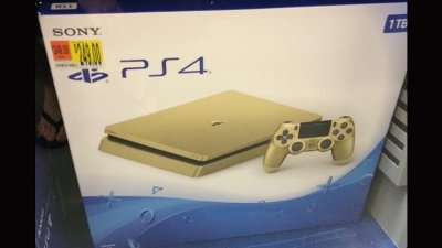 Gold PS4 Slim 1TB Box Image & Rumors of June Release Spotted 3.jpg