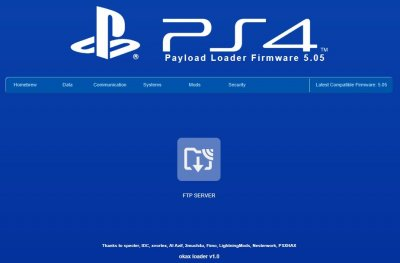 OkaxLoader v1.0 PS4 Playground ESP8266 5.05 Menu by HkN 4.jpg