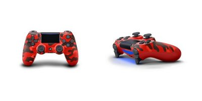 Red Camouflage DualShock 4 DS4 PS4 Controller.jpg