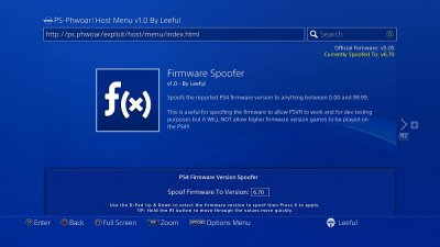 PS-Phwoar! Host Menu v1.0 by Leeful with Latest PS4 Exploit Payloads 7.jpg