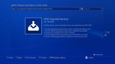 PS-Phwoar! Host Menu v1.0 by Leeful with Latest PS4 Exploit Payloads 8.jpg