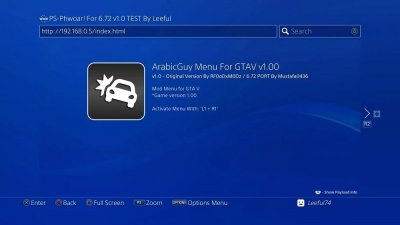 PS4 6.72 Exploit Menu Updates by Leeful74, PlayStation Bounty by TheFloW 5.jpg
